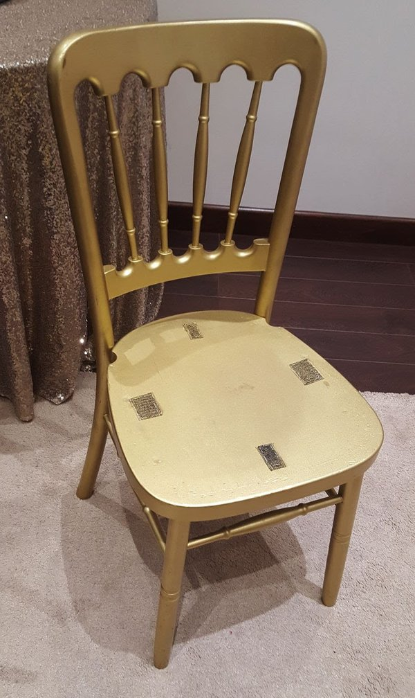 Gold Cheltenham Chairs
