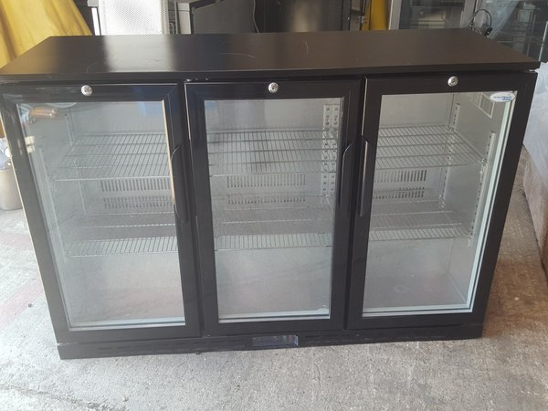 Interlevin Triple Door Bar Fridge/Bottle Cooler