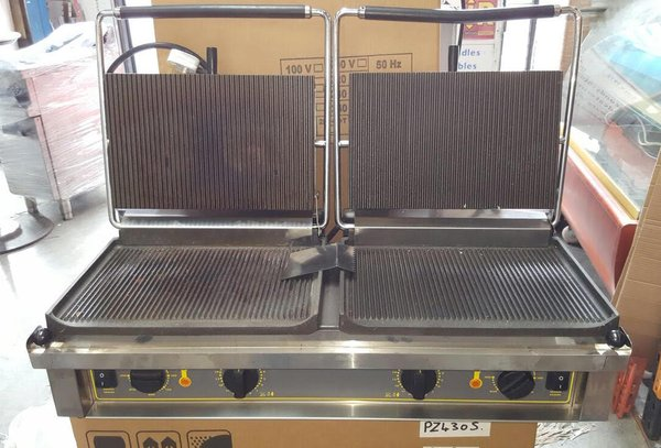 Roller Grill Double Panini Contact Grill