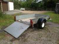 750kg Ifor Williams trailer