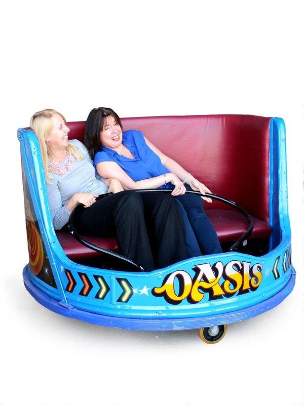 Vintage Waltzer Seats