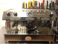 Francino 3 Group Espresso / Coffee Machine inc Grinder