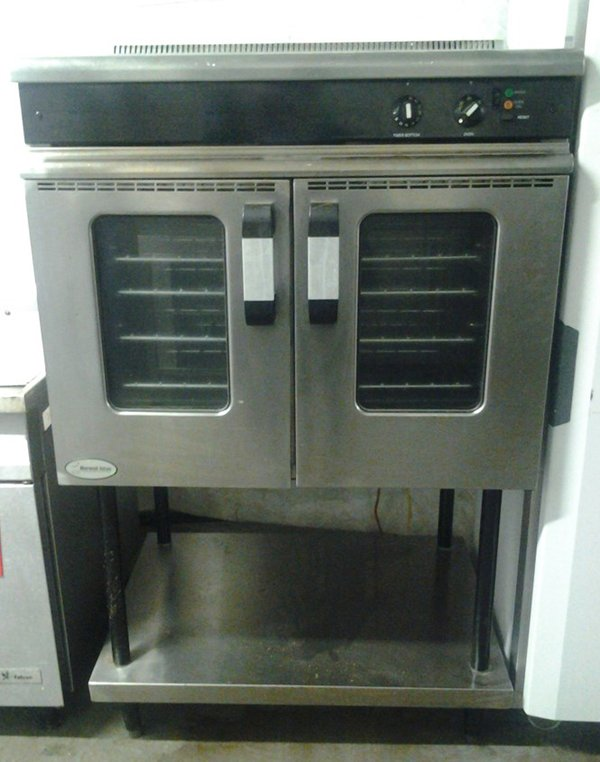 Morwood Vulcan M Line Convection Oven On Legs (Gas)