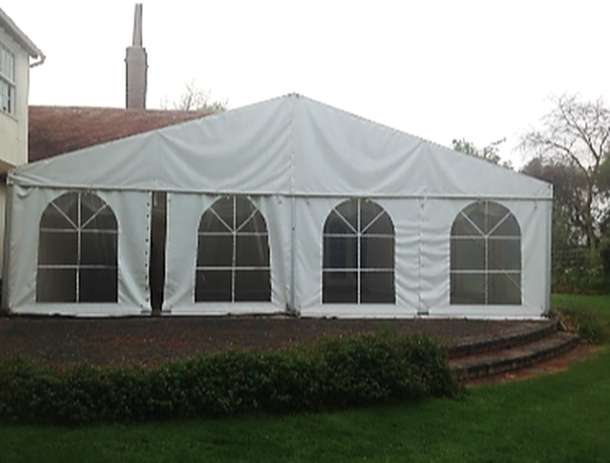 9m x 5m Roder HTS Marquee ...  sc 1 st  Curlew - SecondHand Marquees & Curlew - SecondHand Marquees | Framed marquees 0 - 6m width | 9m x ...