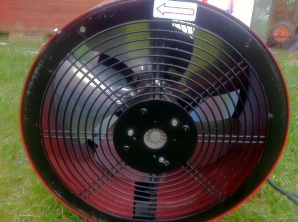 Clark Devil 1850 Space Heater 2