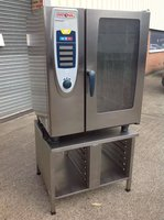 Rational SCC 10 Grid Gas Combi Oven + Stand,