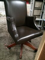 Brown Leather Desk Chairs