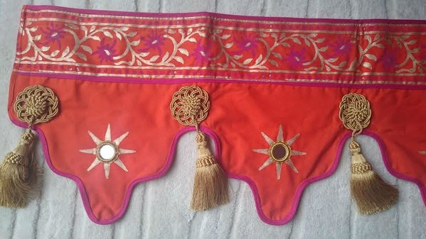 Indian marquee valance