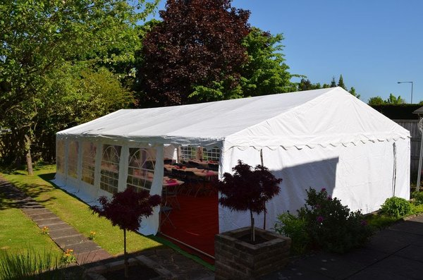 Secondhand Marquees 4m x 6m 600gsm & 6m x 12m 659gsm