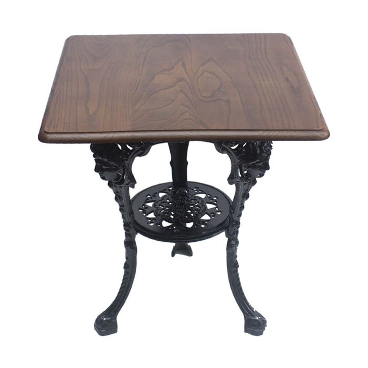 ... Solid Wood Tables With Traditional Decorative Cast Iron Bases ...