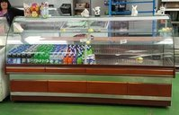 Serve Over the Counter Fridge Approx 2.2m in Size with Storage