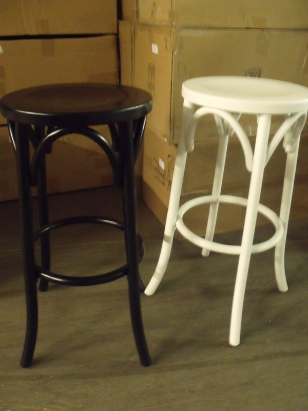 12x Brand New Bentwood Bar Stools In White