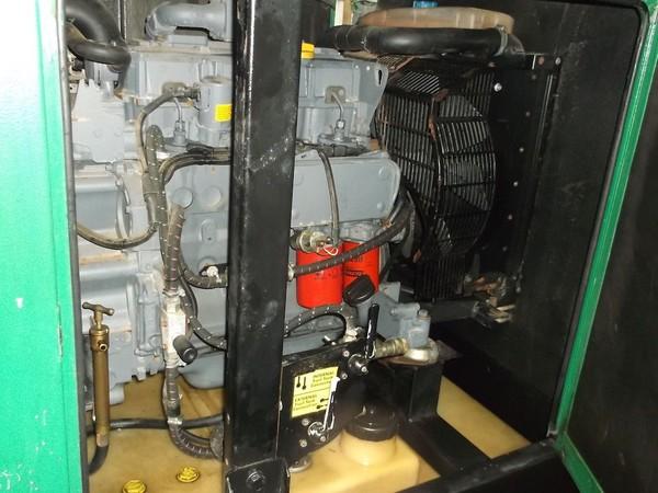 Pramac 60kva Silenced Diesel Rental Spec Generator