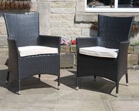 40 x Brand New All Weather Rattan Chairs