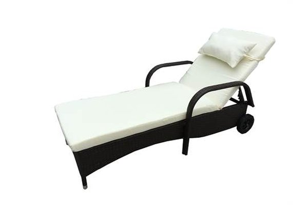 All Weather Rattan Sunloungers