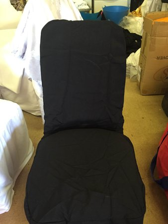 Black Banqueting Chair Covers