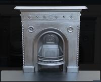 Art Nouveau Cast Iron Bedroom Fireplace
