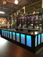 LED / wood bar