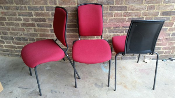 20 No. Opus 1 stacking musician chairs