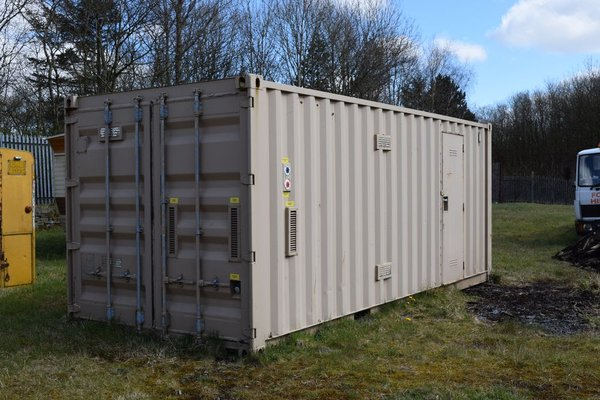 20Ft. Anti Vandal Tlilet and Shower Block