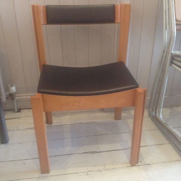 Vintage 1960's Clive Bacon Stacking Chairs