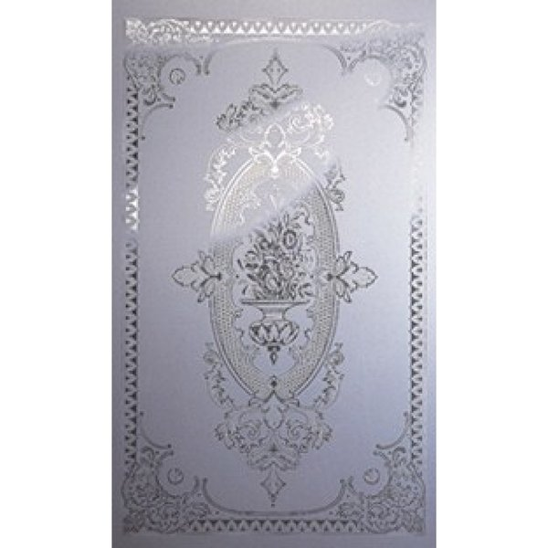 EG001 - Etched Glass Panel with Urn Design