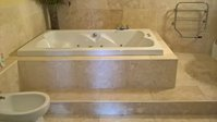 Complete Superior Bathroom Set Jacuzzi Bath