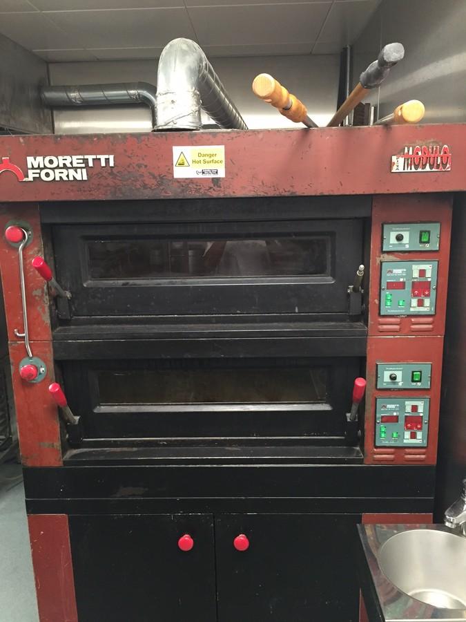 Secondhand catering equipment pizza ovens and pasta equipment moretti forni modulo electric - Forni per pizza casalinghi ...