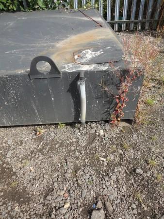 Steel Waste Tank