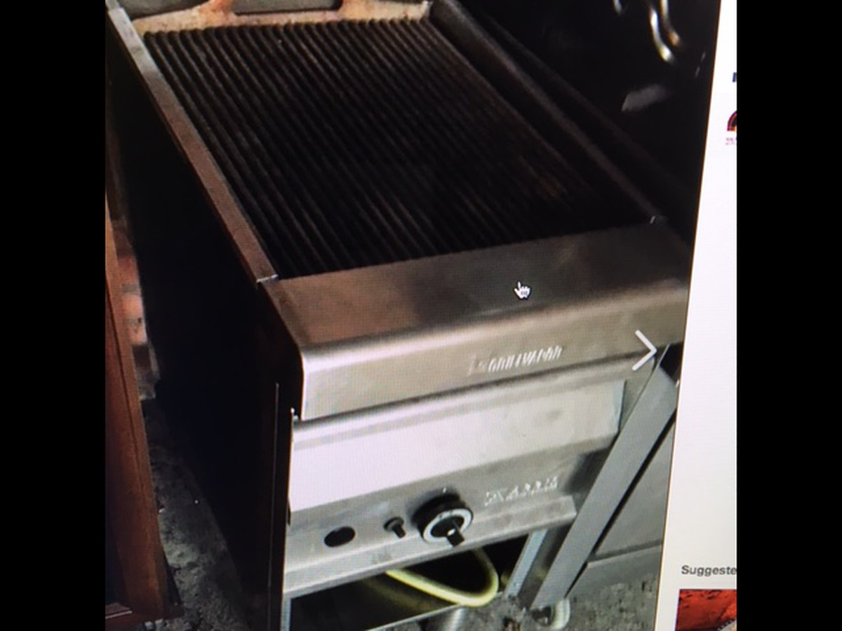 Secondhand Catering Equipment Salamander Grills