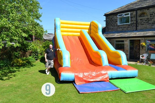 Inflatable Slide 12ft x 24ft (14ft high)