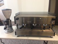 Gaggia 3 group automatic espresso machine and grinder