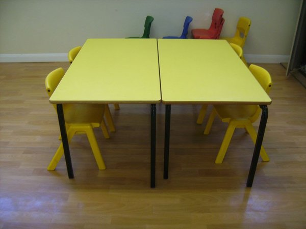 Pre School tables and chairs