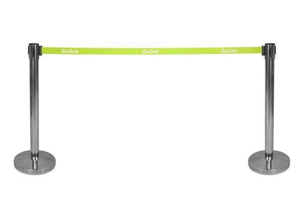 9,500x Tensa / Retractable Belt Barriers. Crowd Control