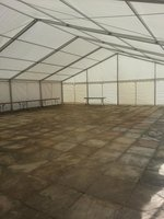 12m Framed marquee roof (3m bays)