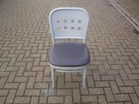 Grey bistro chairs for sale
