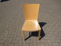 Light wood dining chairs
