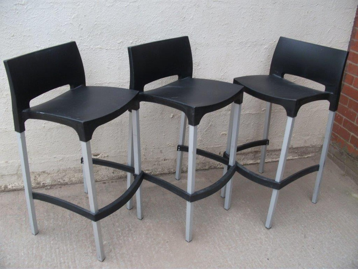 Secondhand Hotel Furniture : Stock Liquidation - Shropshire : 3x Bar Chairs (Code BC 283A ...