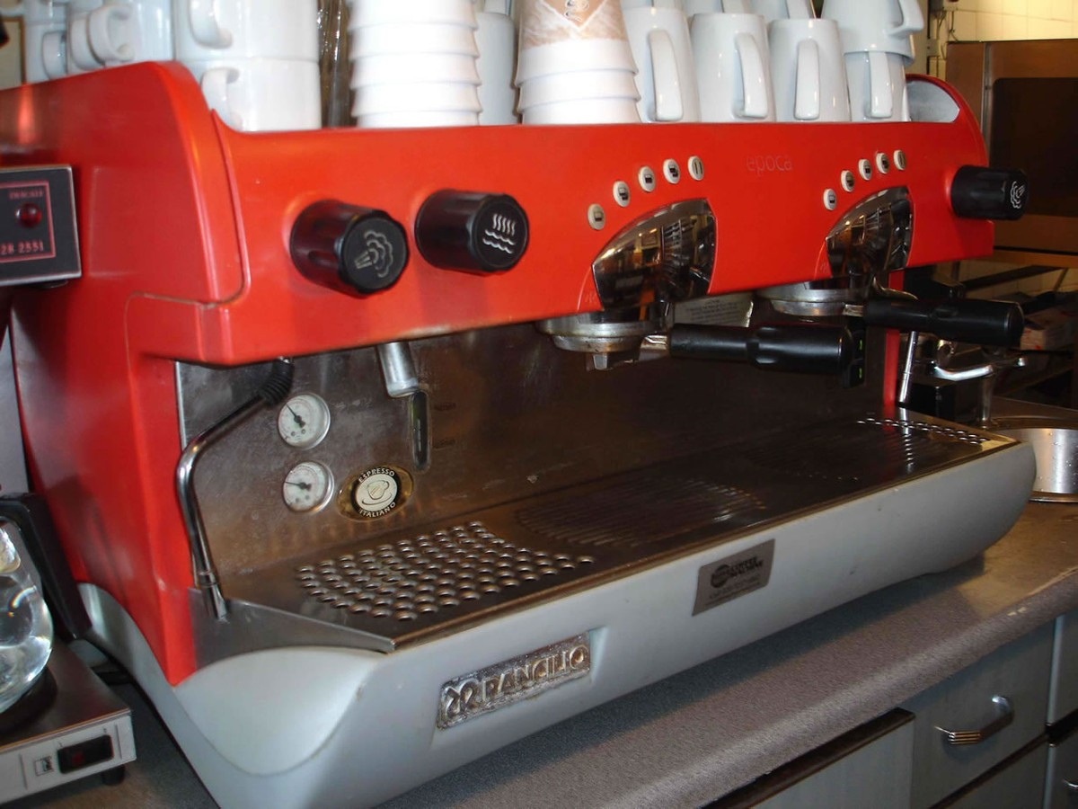 Electronic Rancilio Coffee Machine For Sale secondhand catering equipment 2 group espresso machines rancilio coffee machine