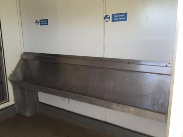 Jack Leg Toilet Unit
