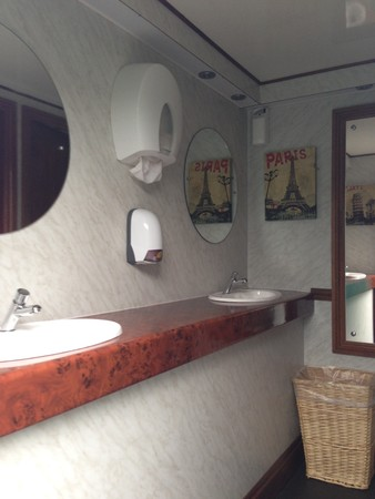 2+1 Luxury Toilet Trailer