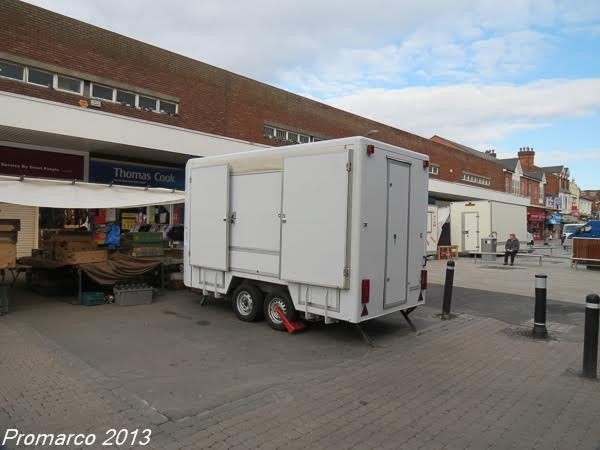 Mobile exhibition trailer for sale