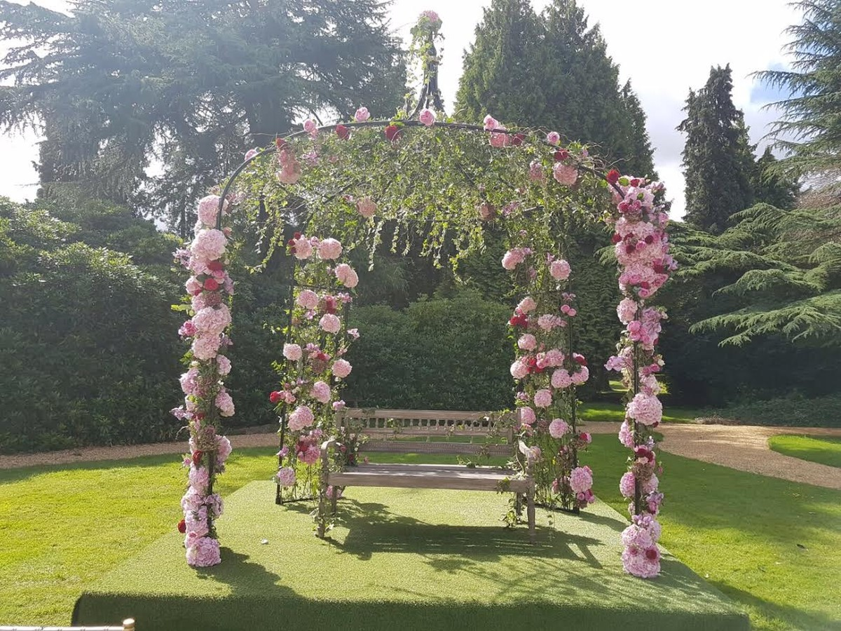 Secondhand Prop Shop Wedding Arch Stunning Metal