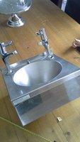 Wall mounted hand wash sink