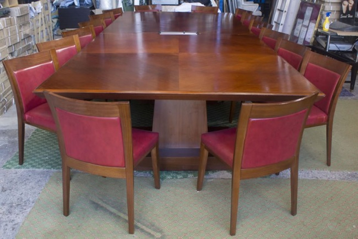 Secondhand Chairs And Tables Office Furniture Luxury Large - Large conference table for sale