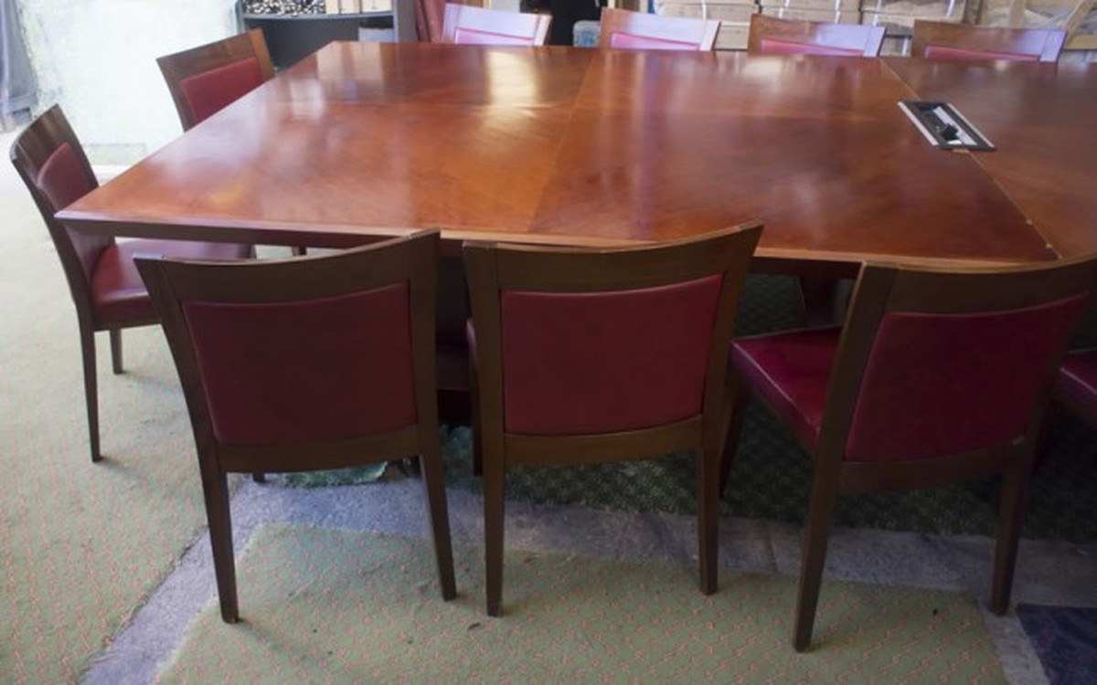 Secondhand Chairs And Tables Office Furniture Luxury Large - Second hand conference table