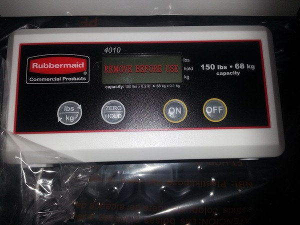 Rubbermaid 4010 Scales