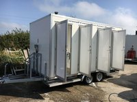 4 bay shower block for sale