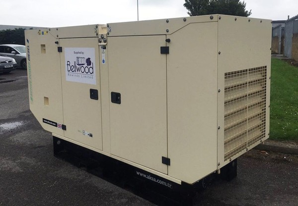 AKSA 100Kva Silent Diesel Generator