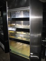 Counterline Slim Multideck Display Chiller With Glass Shelves